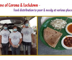 Food distribution to Vulnerable and Poor in Nagpur